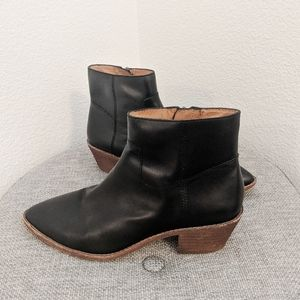 Madewell Leather Brenner Bootie